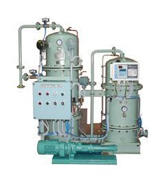 The oily water separator is supplied as a compact modular system, with internal piping and wiring. It is ready to use by connecting the suction and discharge lines as well as the central power supply. The oily water separator conforms to IMO Resolution MEPC 107(49) and comes with 15 ppm bilge alarm....